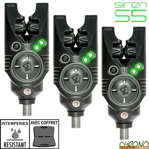 NASH SIREN S5R NEW GREEN LED BITE ALARM T2939