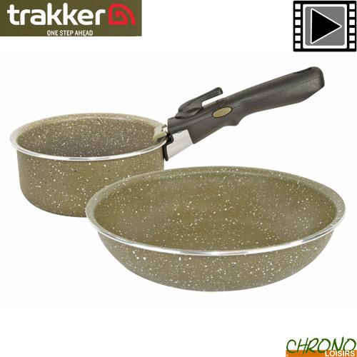 Trakker NOUVEAU Armolife Tri-Lite Poêle * 211109 * Pêche à La Carpe Cookware