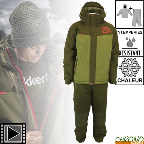 Trakker Core 2pc hiver Costume Toutes Tailles Pêche à La Carpe Tackle