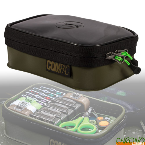 Korda Carp Fishing Luggage Compac Gas Jacket insulates the /â/€/˜500/â/€/™ size Cannister Durable Water Resistant Fabric Fully Insulated Spoon /& lighter pockets 11cm x 11cm x 15cm